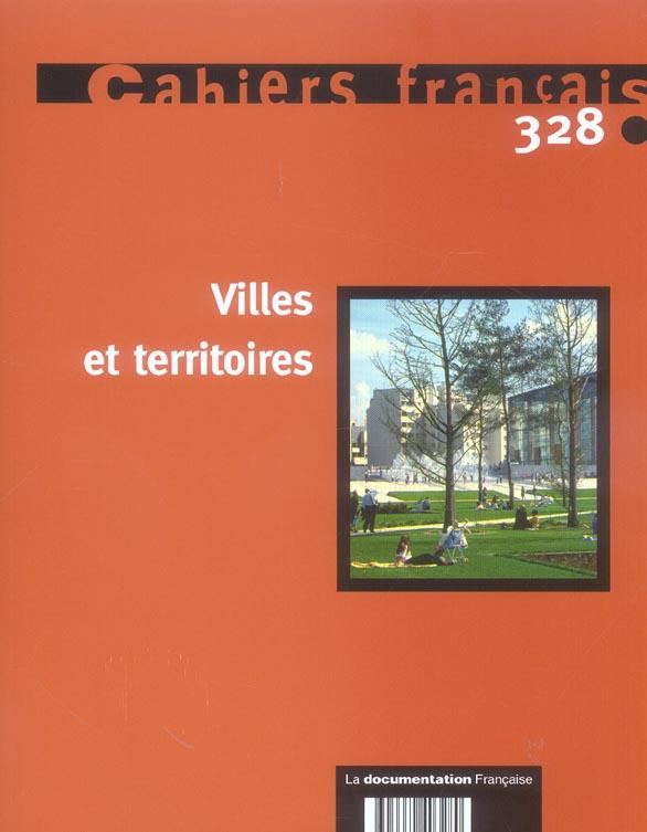 VILLES ET TERRITOIRES N 328