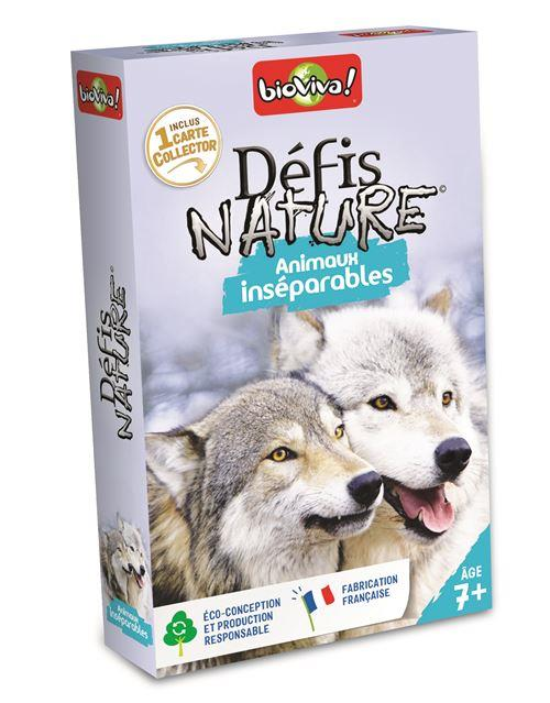 DEFIS NATURE  ANIMAUX INSEPARABLES