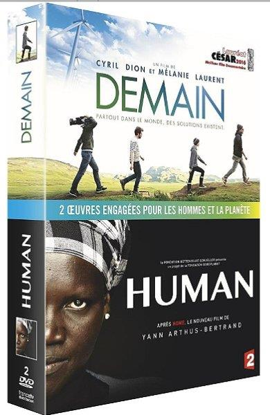COFFRET - DEMAIN + HUMAN COLLECTOR