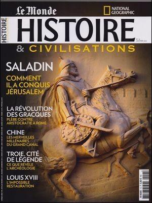 HISTOIRE & CIVILISATIONS N 13 SALADIN JANVIER 2016