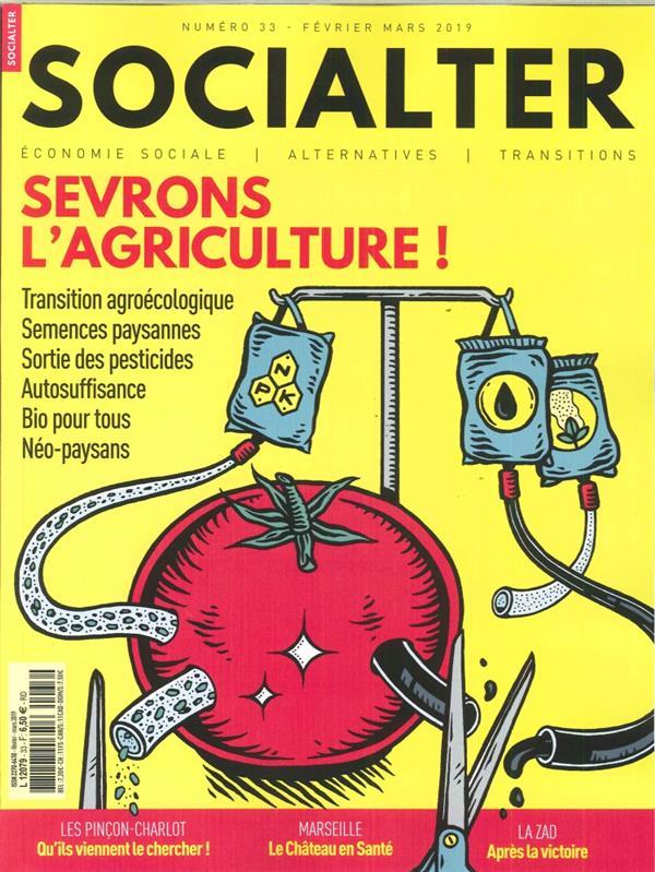 SOCIALTER N 33 SEVRONS L'AGRICULTURE  - FEVRIER/MARS 2019