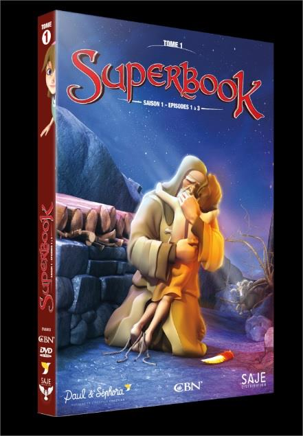 SUPERBOOK  SAISON 1 - DVD