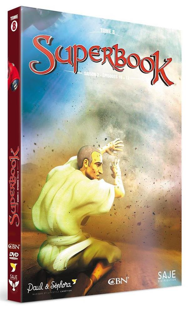 SUPERBOOK TOME 8, SAISON 2 EPISODES 10 A 13 - DVD