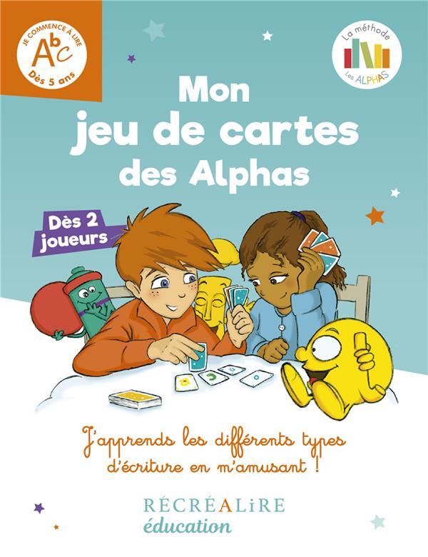 MON JEU DE CARTES DES ALPHAS