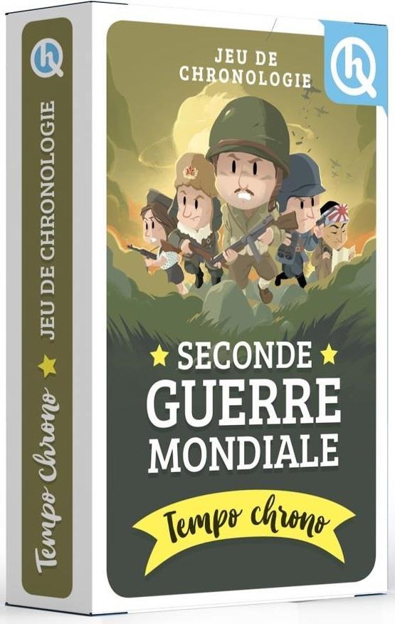 TEMPO CHRONO SECONDE GUERRE MONDIALE - JEU DE CHRONOLOGIE