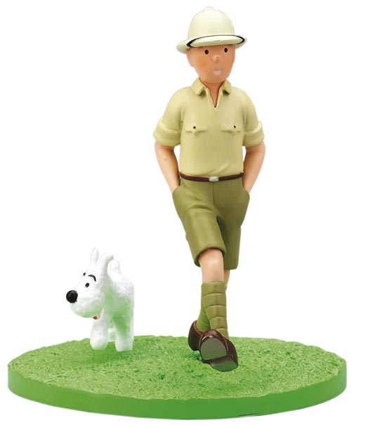 COFFRET SCENE TINTIN EXPLORATEUR