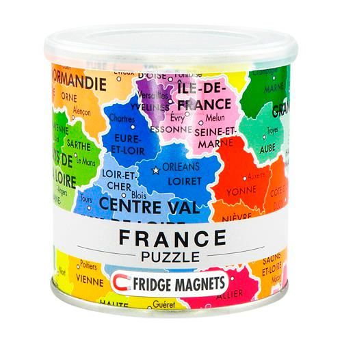 DISPLAY CITY PUZZLE FRANCE 100 PIECES MAGNETIQUES