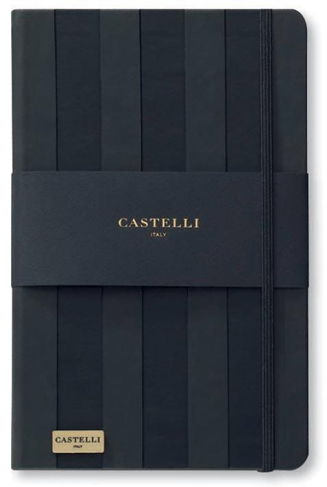 CARNETS DE NOTES CASTELLI BANDES BLACK