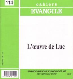 L OEUVRE DE LUC  N114 - CE 114