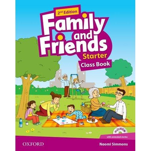 FAMILY & FRIENDS 2E: STARTER CLASS BOOK PACK