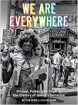 WE ARE EVERYWHERE A VISUAL GUIDE TO THE HISTORY OF QUEER LIBERATION /ANGLAIS