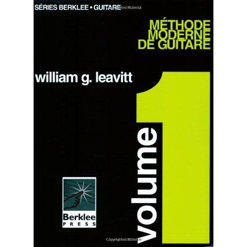 METHODE MODERNE DE GUITARE VOLUME 1 GUITARE