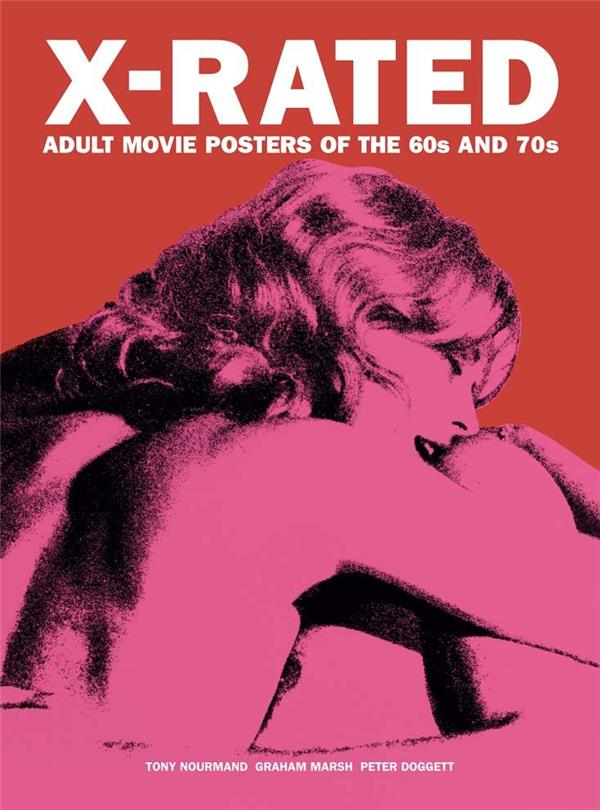 X-RATED ADULT MOVIE POSTERS OF THE 60S AND  70S /ANGLAIS