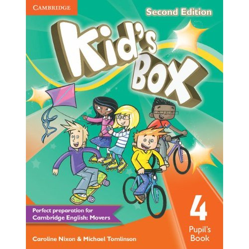 KID'S BOX SECOND EDITION PUPIL'S BOOK LEVEL 4