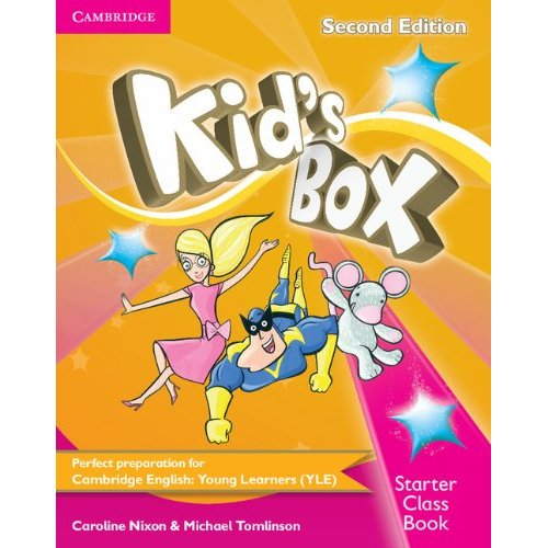 KID'S BOX SECOND EDITION CLASS BOOK STARTER WITH CD-ROM STARTER