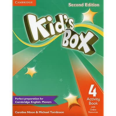 KID'S BOX SECOND EDITION ACTIVITY BOOK 4 WITH ONLINE RESOURCES LEVEL 4