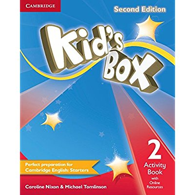 KID'S BOX SECOND EDITION ACTIVITY BOOK WITH ONLINE RESOURCES LEVEL 2
