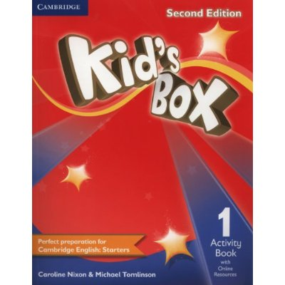 KID'S BOX SECOND EDITION ACTIVITY BOOK WITH ONLINE RESOURCES LEVEL 1