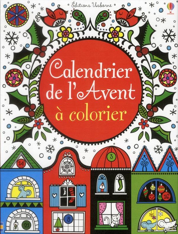 CALENDRIER DE L'AVENT A COLORIER 2011