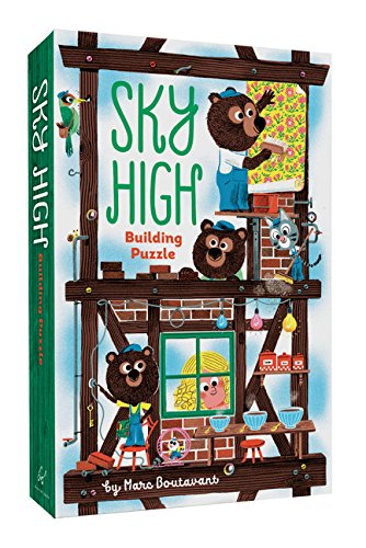 SKY HIGH BUILDING PUZZLE BY MARC BOUTAVANT