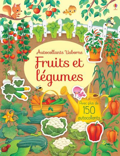 FRUITS ET LEGUMES - PREMIERS AUTOCOLLANTS