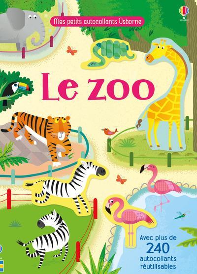 LE ZOO - MES PETITS AUTOCOLLANTS USBORNE