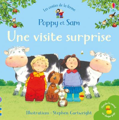 UNE VISITE SURPRISE - POPPY ET SAM - LES CONTES DE LA FERME