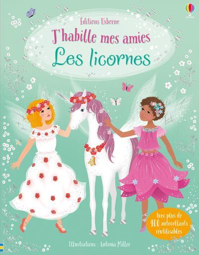 J'HABILLE MES AMIES - LES LICORNES