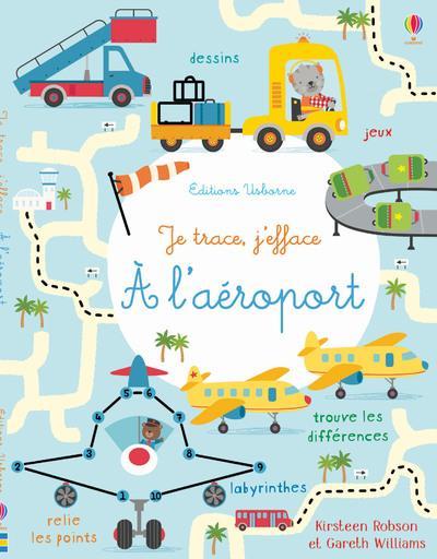 A L'AEROPORT - JE TRACE, J'EFFACE