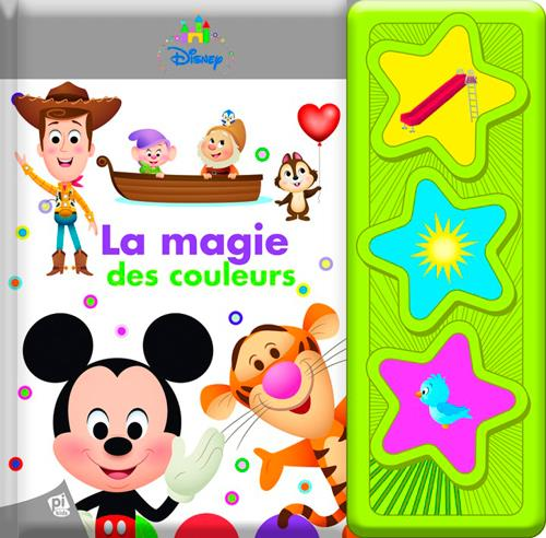 """DISNEY BABY - LES 3 BOUTONS SONORES """"PLUS"""""""