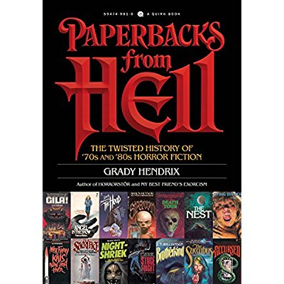 PAPERBACKS FROM HELL /ANGLAIS