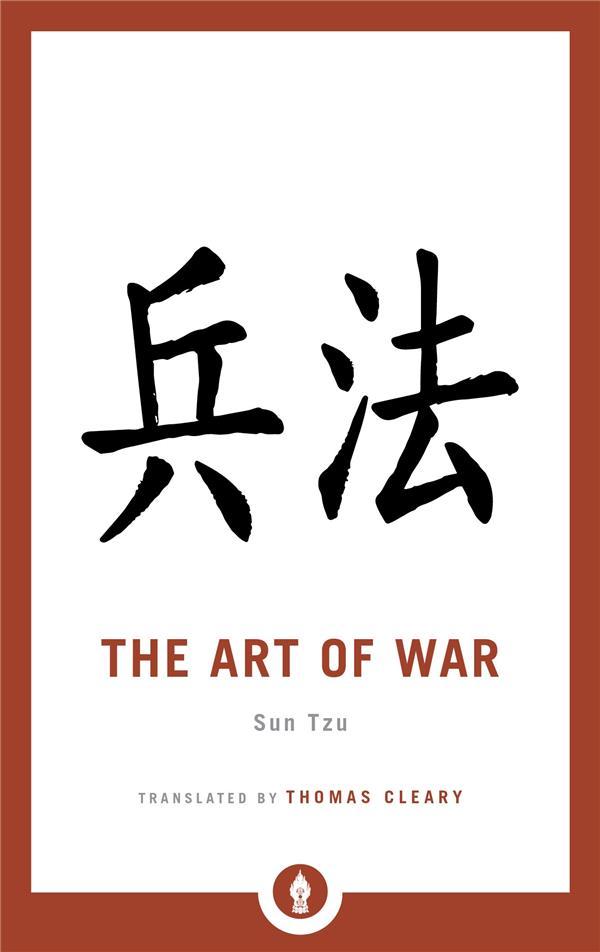 SUN TZU THE ART OF WAR /ANGLAIS
