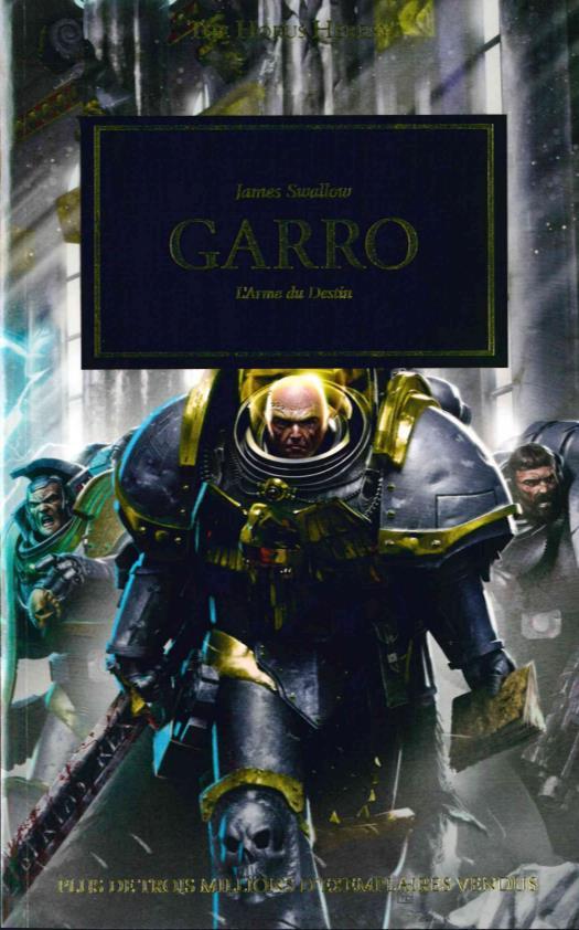 GARRO, L'ARME DU DESTIN