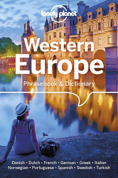 WESTERN EUROPE PHRASEBOOK & DICTIONARY 6ED -ANGLAIS-