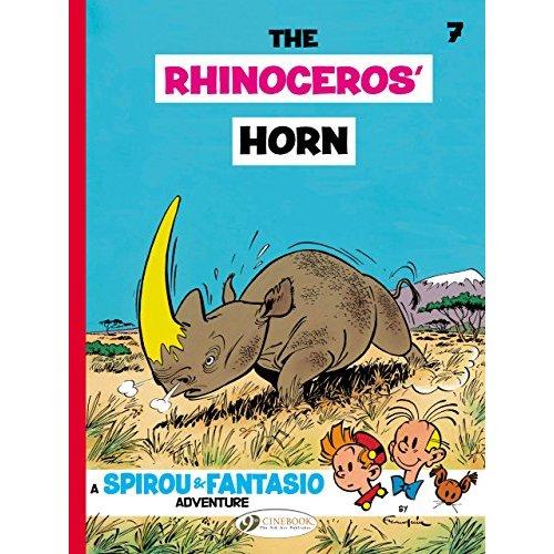 SPIROU & FANTASIO T07 - THE RHINOCEROS' HORN