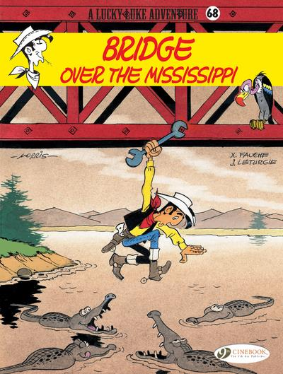LUCKY LUKE - VOLUME 68 BRIDGE OVER THE MISSISSIPPI