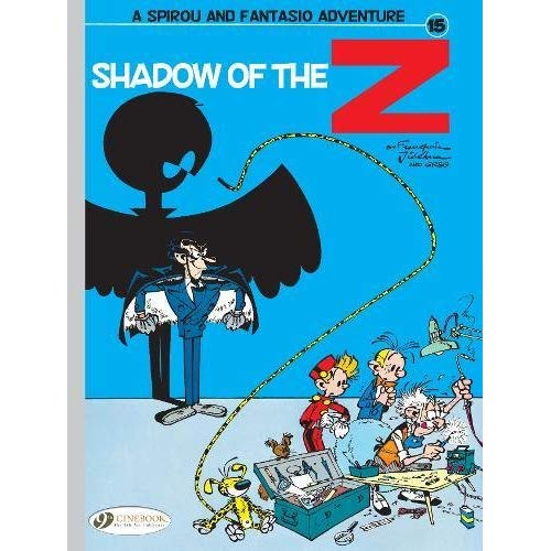 T15 SPIROU & FANTASIO  VOLUME 15 SHADOW OF THE Z