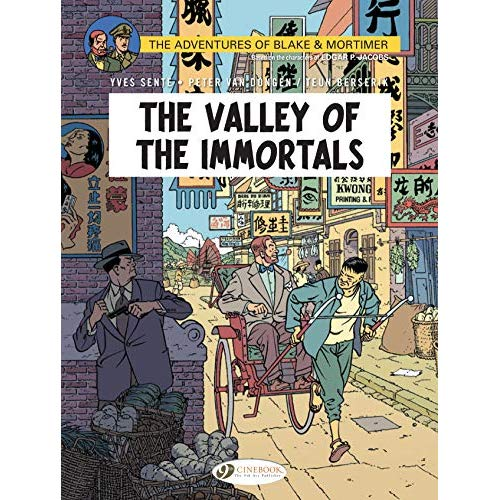 BLAKE & MORTIMER - VOLUME 25 THE VALLEY OF THE IMMORTALS PART 1