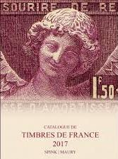 CATALOGUE DE TIMBRE DE FRANCE 2017