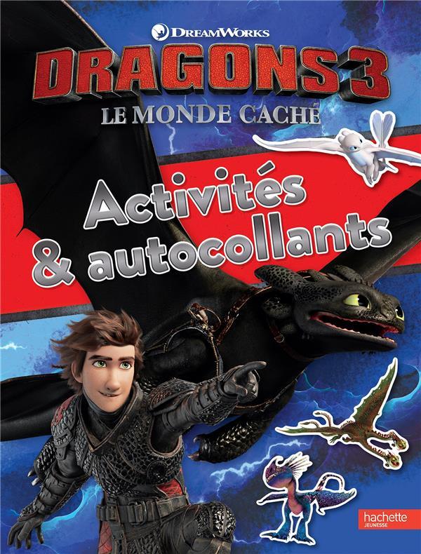 DRAGONS 3 - ACTIVITES ET AUTOCOLLANTS