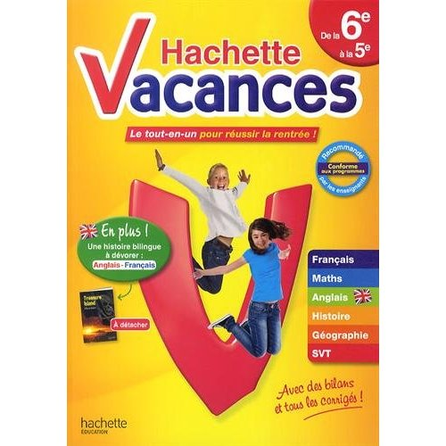 HACHETTE VACANCES DE LA 6E A LA 5E