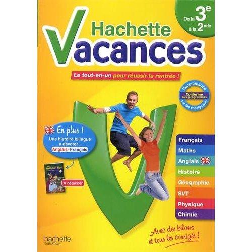 HACHETTE VACANCES DE LA 3E A LA 2NDE