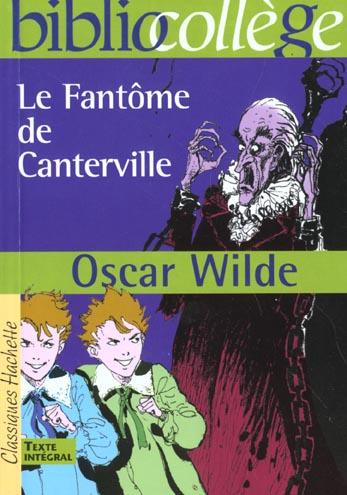 BIBLIOCOLLEGE - LE FANTOME DE CANTERVILLE, OSCAR WILDE
