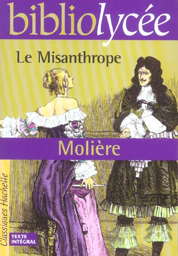 BIBLIOLYCEE - LE MISANTHROPE, MOLIERE