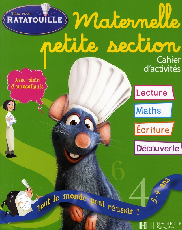 RATATOUILLE MATERNELLE PETITE SECTION