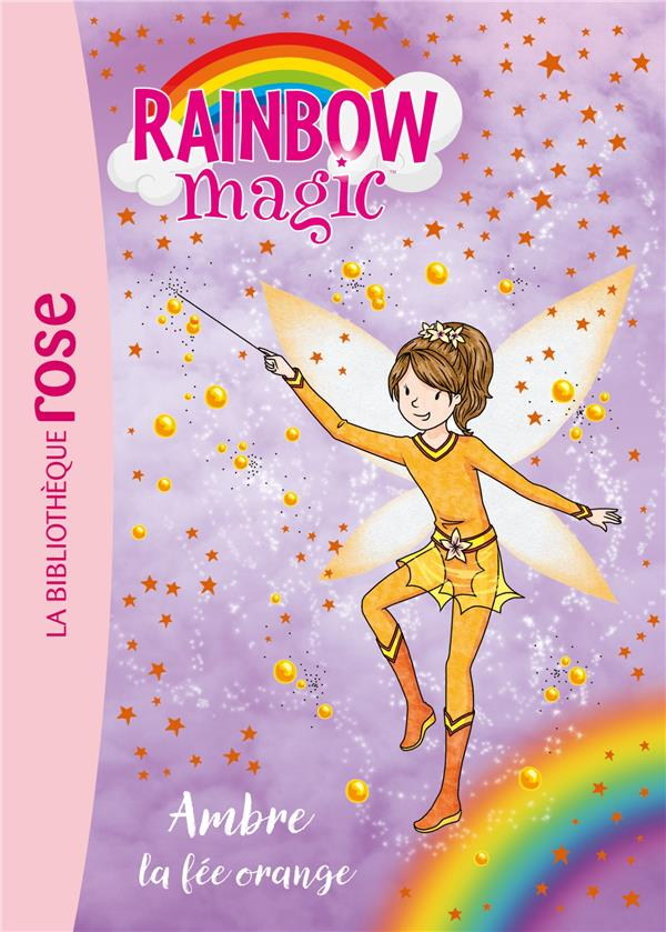 RAINBOW MAGIC 02 - AMBRE, LA FEE ORANGE - T2