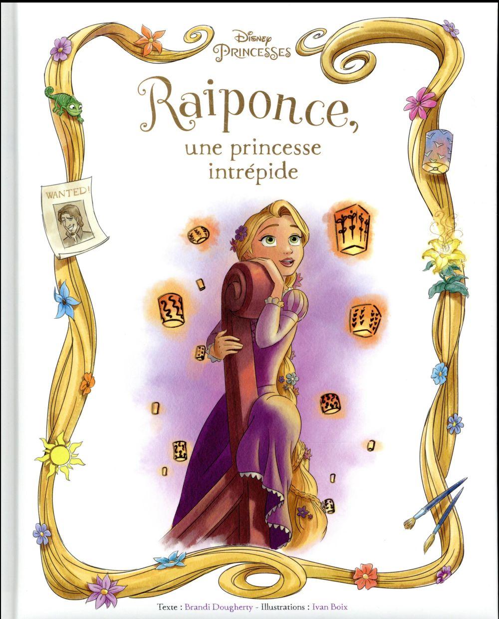 RAIPONCE - ALBUM - UNE PRINCESSE INTREPIDE