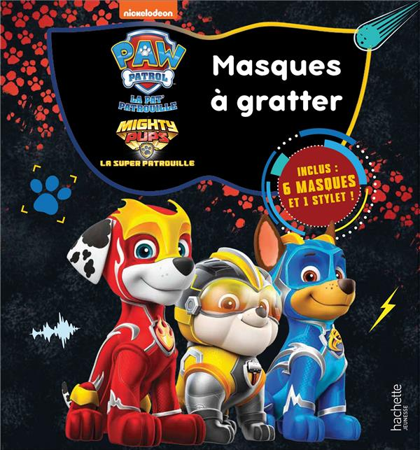 PAT' PATROUILLE - MASQUES A GRATTER MIGHTY PUPS