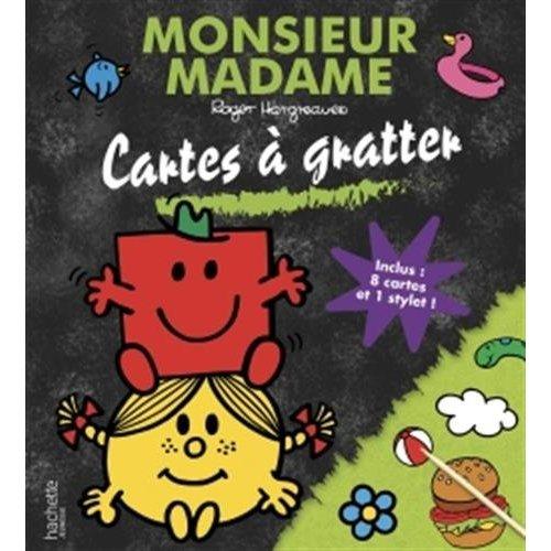 MONSIEUR MADAME - CARTES A GRATTER