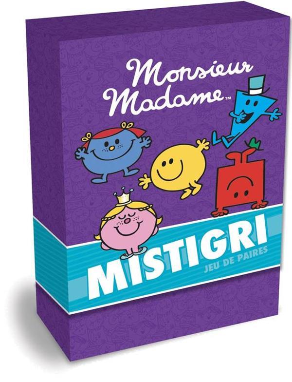MONSIEUR MADAME - BOITE DE CARTES - MISTIGRI
